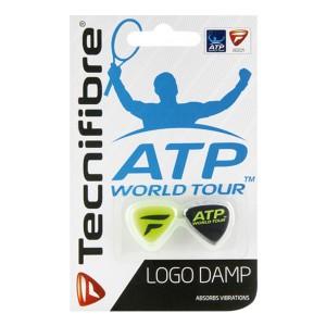 Tecnifibre-Logo-Damp-Zwart-Groen-2-stuks